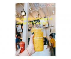 Chuyên cung cấp ly nhựa, giấy in logo quán trà sữa, trà chanh, cà phê giá rẻ ở Đà Nẵng