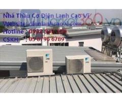 Công ty lắp đặt máy lạnh tại Vũng Tàu - Cao vĩ