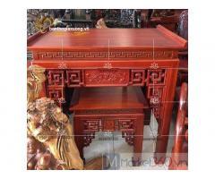 Bàn thờ gia tiên đẹp với kiểu dáng cùng họa tiết đa dạng hiện đại