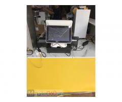 Máy tính tiền cảm ứng 2 màn hình cho quán Trà sữa- Ăn vặt tại Cần Thơ