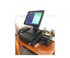 Máy tính tiền cảm ứng cho Cửa hàng hải sản Đông lạnh ở Bình Định