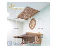 Mẫu bàn thờ treo tường hiện đại cùng các kiểu dáng đẹp mắt