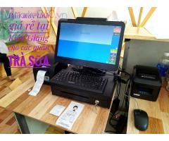 Cung cấp máy tính tiền cho các tiệm trà sữa giá rẻ tại Long Xuyên