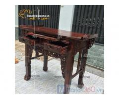 Mẫu bàn thờ gia tiên đẹp cùng các kiểu dáng chạm trổ tinh xảo