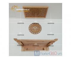 Mẫu bàn thờ gia tiên hiện đại cùng các kiểu dáng chạm trổ tinh xảo