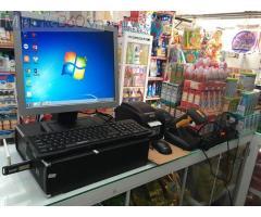Máy tính tiền bằng mã vạch cho Cửa hàng Tạp hóa- Bách hóa tại Cà Mau