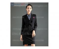 Xưởng may đồng phục áo vest nữ công sở theo size đẹp hơn may đo