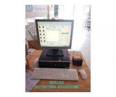 Trọn bộ máy tính tiền cho Quán cơm Thố- Cơm văn phòng tại Vĩnh Long