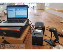 Lắp đặt trọn bộ máy tính tiền cho Shop túi xách- Phụ kiện tại Sóc Trăng