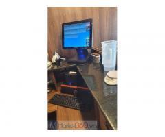 Chuyên bán máy tính tiền cảm ứng trọn bộ cho Quán Coffee tại Thái Bình