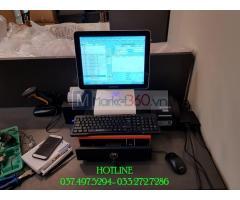 Trọn bộ máy tính tiền cảm ứng cho Cửa hàng Ga- Nệm tại Cần Thơ
