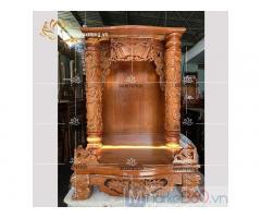 Mẫu bàn thờ ông địa - thần tài đẹp với đa dạng kích thước quận 12