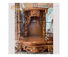 Mẫu bàn thờ ông địa đẹp với đa dạng kích thước kiểu dáng quận 12
