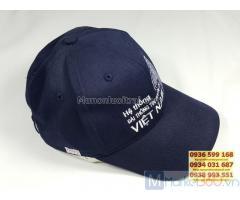Sản xuất nón lưỡi trai theo yêu cầu, thiết kế sản xuất nón lưỡi trai giá rẻ tại tphcm, cung cấp nón lưỡi trai chất lượng