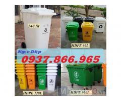 Chuyên cung cấp thùng rác nhựa HDPE, thùng rác ngoài trời, thùng rác công cộng