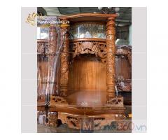 Mẫu bàn thờ ông địa đẹp với đa dạng kích thước quận 3