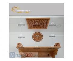 Báo giá mẫu bàn thờ treo tường đẹp cùng đa dạng kích thước