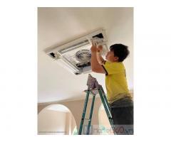 Địa chỉ cung cấp - thi công máy lạnh âm trần LG giá cực tốt trọn gói tại củ chi