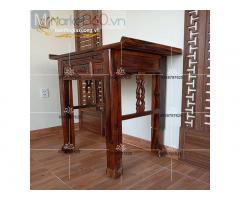 Mẫu bàn thờ gia tiên hiện đại - trang nghiêm phòng thờ
