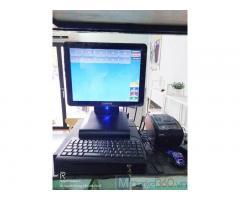 Bán máy tính tiền cảm ứng trọn bộ cho Quán Trà sữa tại Long An
