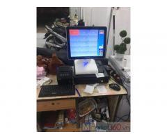 Bộ máy tính tiền cảm ứng cho Quán ăn- Tiệm mỳ tại Bình Dương