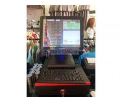 Lắp đặt máy tính tiền cảm ứng trọn bộ Shop thời trang tại Trà Vinh