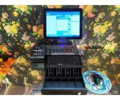 Bộ máy tính tiền cảm ứng cho Quán Sâm- Quán Cà phê tại Hòa Bình