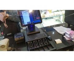 Trọn bộ máy tính tiền cảm ứng cho quán Trà sữa- Trà chanh tại Đà Nẵng