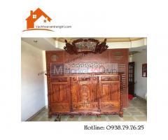 Nguyên tắc thiết kế phòng thờ đẹp cổ điển với vách ngăn cnc Tân Bình