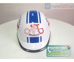 Cơ sở làm mũ bảo hiểm theo yêu cầu, nhận làm mũ bảo hiểm quà tặng,mũ bảo hiểm quảng cáo