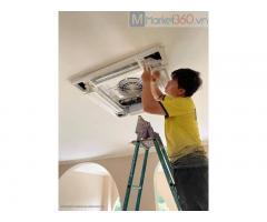 Đơn vị cấp 1 lắp máy lạnh âm trần cassette Daikin 5.0hp uy tín - chính hãng quận 2