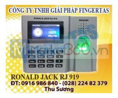 Chuyên lắp máy chấm công vân tay thẻ cảm ứng RJ 919 hàng siêu rẻ