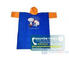 Địa chỉ làm áo mưa quảng cáo chất lượng, làm áo mưa quảng cáo giá rẻ, nhận in logo áo mưa quảng cáo