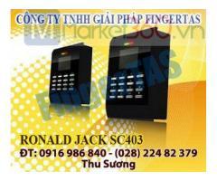 SC403 máy chấm công thẻ cảm ứng điều khiển cửa ra vào hàng chính hãng
