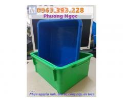 Thùng nhựa đặc A3, sóng nhựa công nghiệp, khay linh kiện