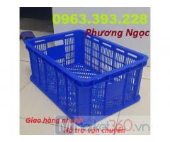 Sóng nhựa rỗng HS018, sọt nhựa đựng hàng, sọt HS018, sọt nhựa công nghiệp