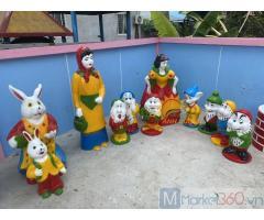 Cung cấp tượng cho vườn cổ tích trẻ em giá rẻ, uy tín, chất lượng cao