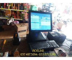 Chuyên máy tính tiền cảm ứng cho Siêu Thị Mini tại Đồng Tháp
