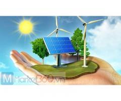GDP : Đẩy mạnh phát triển năng lượng tái tạo.