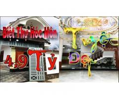 Biệt Thự Hóc Môn Tân Hiệp Tuyệt Đẹp 4,9 Tỷ | Nhà Đất Hóc Môn