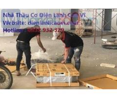 Lắp máy lạnh tại Tân Bình Tp.HCM - Cao Vĩ