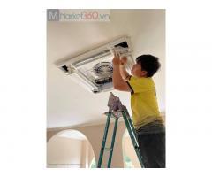 Đơn vị thi công chính hãng lắp máy lạnh âm trần giá gốc, ưu đãi lớn nhất cần giờ