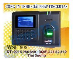 Phân phối máy chấm công vân tay WSE808 hàng chính hãng giá cạnh tranh