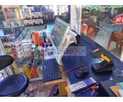 Lắp đặt trọn bộ máy tính tiền cho Nhà sách- Cửa hàng tại Long An