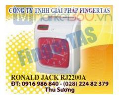Cung cấp máy chấm công thẻ giấy RJ2200A/2200N tặng kèm 300 thẻ hàng chính hãng
