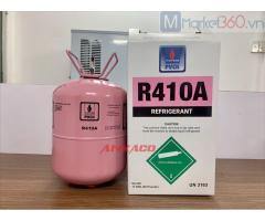 Tặng nón bảo hiểm khi mua gas lạnh R410 tại công ty AN KHANG