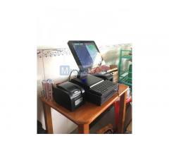 Máy tính tiền cảm ứng cho Cửa hàng hải sản Đông lạnh tại Lâm Đồng
