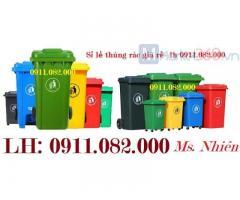 Sỉ thùng rác 660 lít giá rẻ tại sóc trăng- Thùng rác các loại giá thấp-