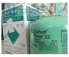 Gas lạnh Dupont Freon R22 Mỹ 13.62Kg & 22.7Kg
