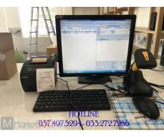 Chuyên bán máy tính tiền bằng mã vạch cho Shop Mỹ phẩm tại Tây Ninh